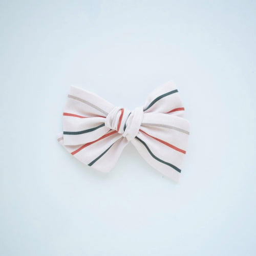 Copper Stripe Bow