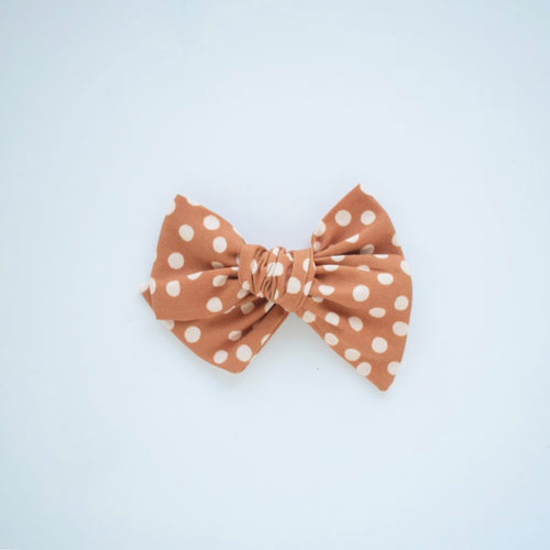 Dijon Dot Bow