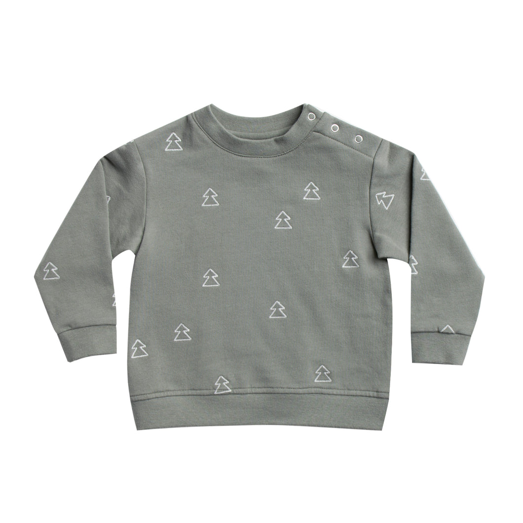 Fleece Sweatshirt - Eucalyptus