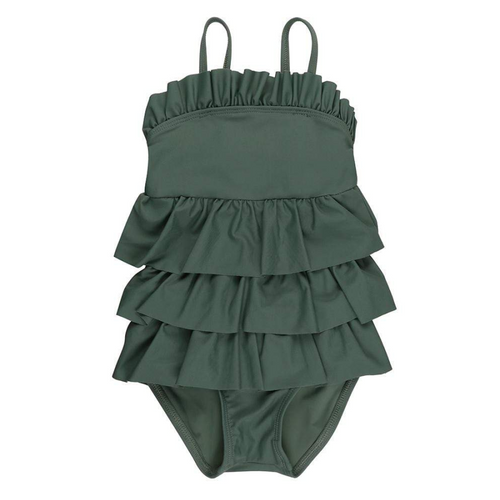 Moss Frill Swimsuit