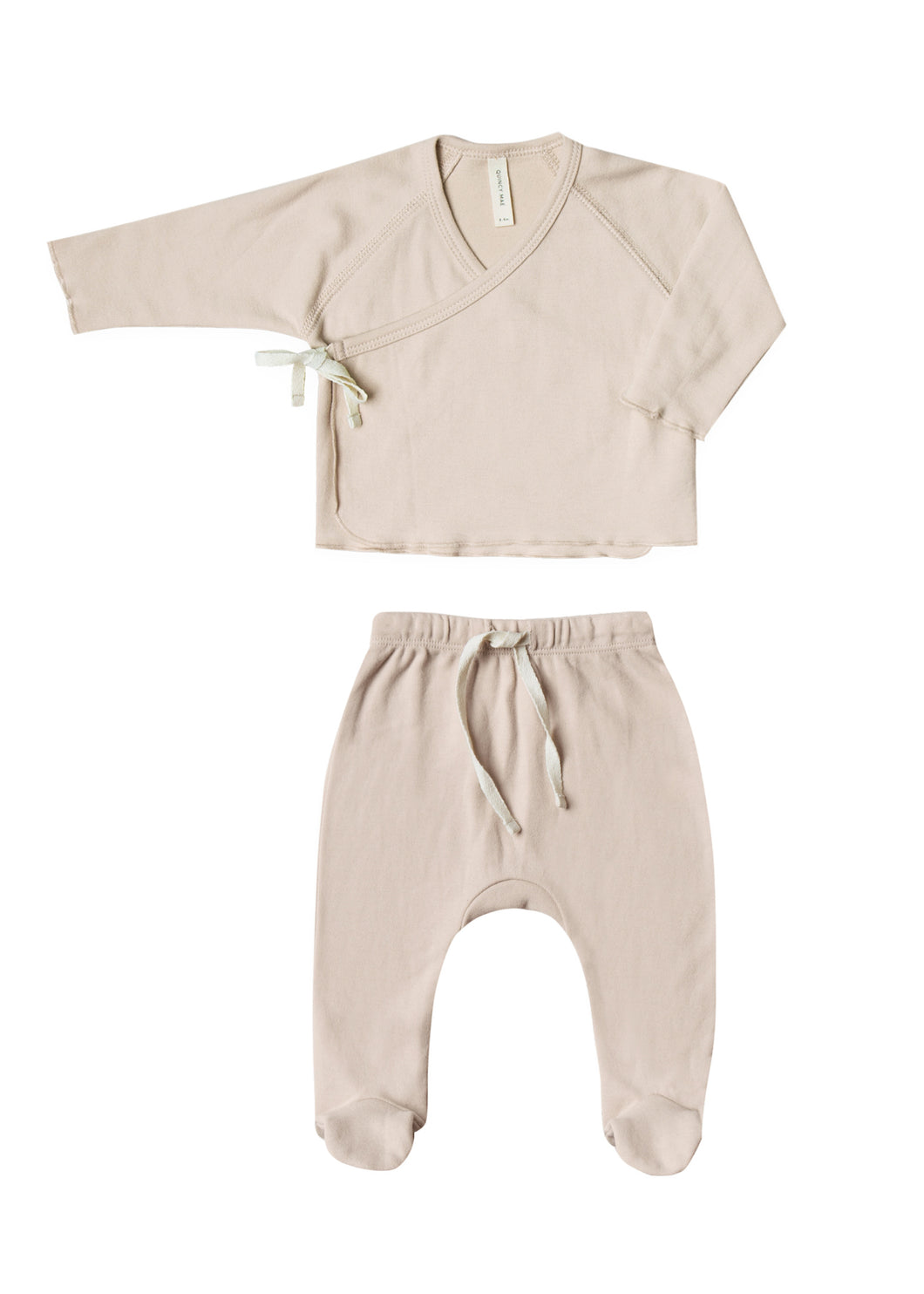 Kimono Top and Footed Pant Set