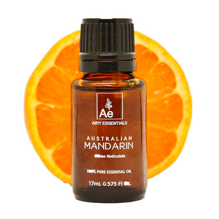 Mandarin Cold Pressed Australian Essential Oil 17 ml