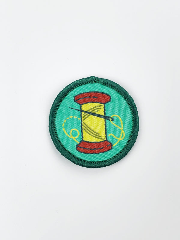 Quilt Cadets Merit Badge: Hand Sewing Badge