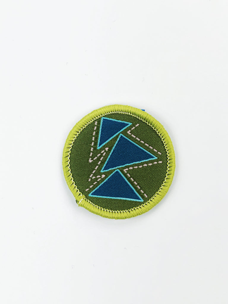 Quilt Cadets Merit Badge: Triangle Badge