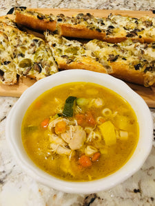 Autumn Squash and Chicken Soup