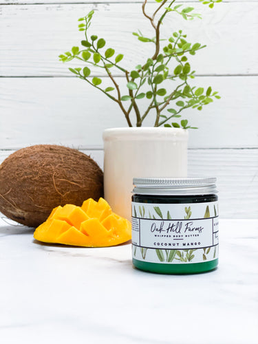 Coconut Mango Whipped Body Butter