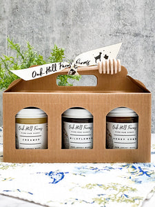 Honey Trifecta Gift Set