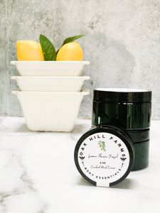 Lemon Flower Basil Cracked Hand Cream