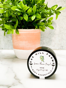 Lemon Flower Basil Whipped Body Butter