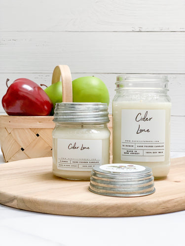 Cider Lane Soy Wax Candle