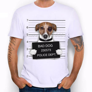 Dog Police Lineup T Shirt - Puppy Loves Fashion