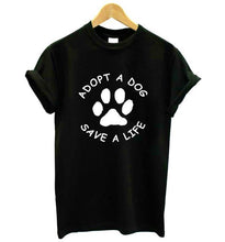 Adopt A Dog Save A Life T-Shirt - Puppy Loves Fashion