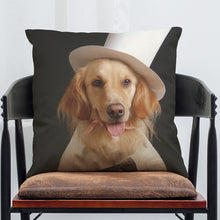 Puppy Loves Music pillow cover - Puppy Loves Fashion