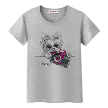 Fun T-shirt Animated Pets - Puppy Loves Fashion