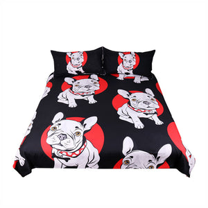 Pug Bed Cover for kids - Puppy Loves Fashion