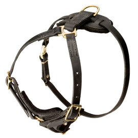 Light Leather Harness for SAR and Tracking - DogSports4u