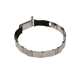 Herm Sprenger NeckTech Stainless Steel Collar with Click Lock - DogSports4u