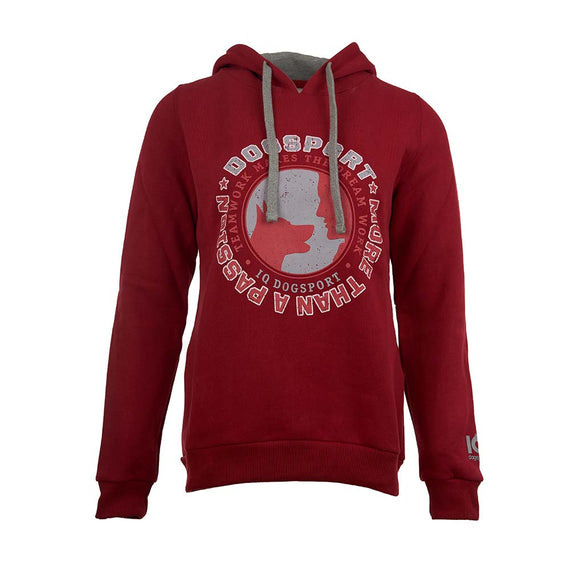 IQ Hoodie Sweatshirt with Large Rear Pocket - Ladies