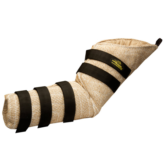 Ambidextrous Hidden Bite Protection Sleeve Made of Jute - DogSports4u