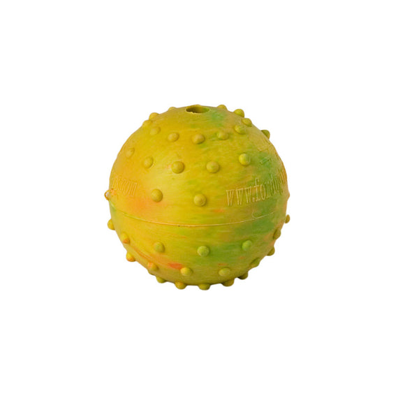 Rubber Dog Ball with Bell Inside - DogSports4u