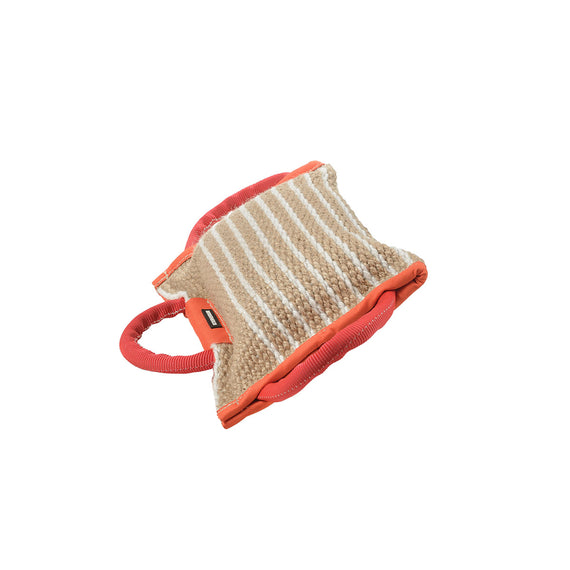 Duly Stitched Jute Bite Pad for Dog Training - DogSports4u