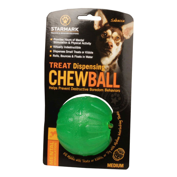 Treat Dispensing Chew Dog Ball - DogSports4u
