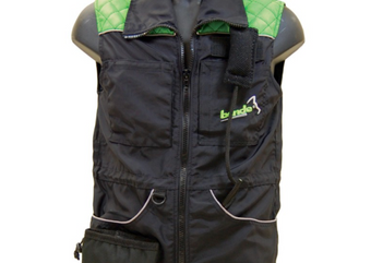 Bende Working Vest Bonak With Velcro Tug