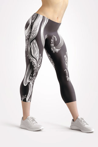 Tentacle Capri Leggings