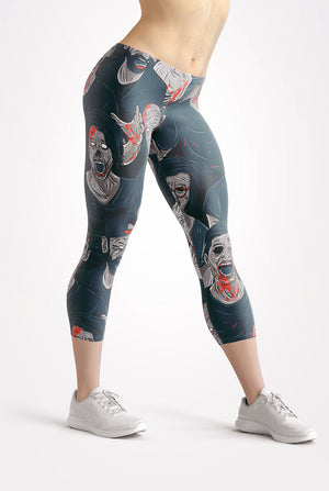 Zombies Capri Leggings
