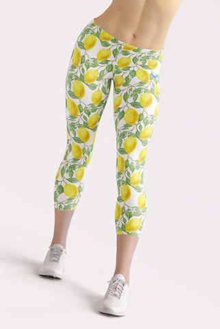 Lemonade Capri Leggings