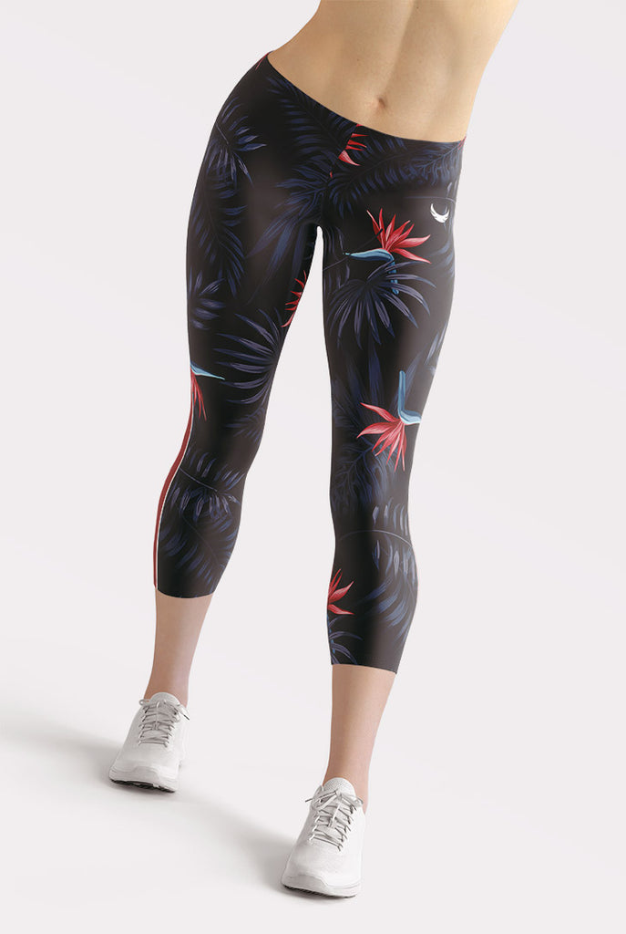 Exotic Capri Leggings