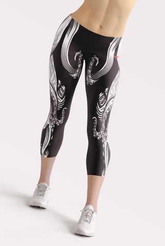 Image of Tentacle Capri Leggings