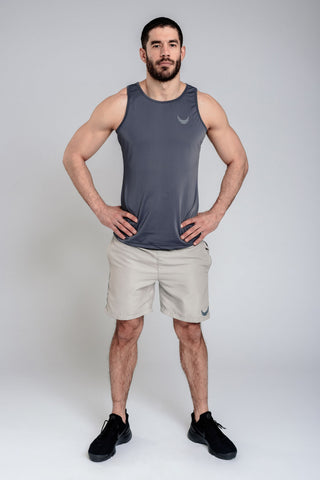 Image of Apex Tank - Grey