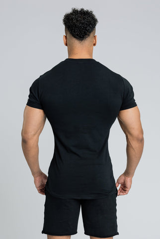 Image of Alpha Banner T-Shirt - Black