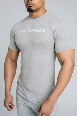 Image of Alpha Banner T-Shirt - Grey