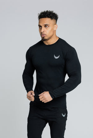 Alpha Long Sleeve T-Shirt - Black