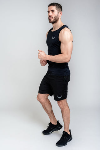 Apex Sport Shorts - Black