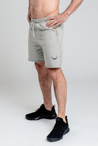 Alpha Sawn-Off Shorts - Grey