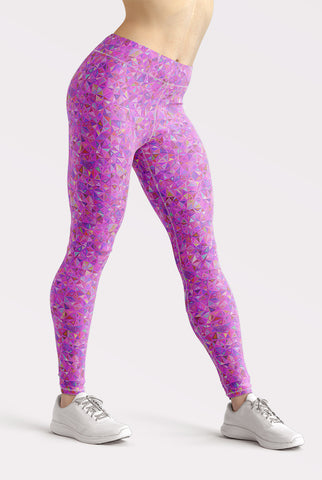 Image of Pink Mosaic Leggings
