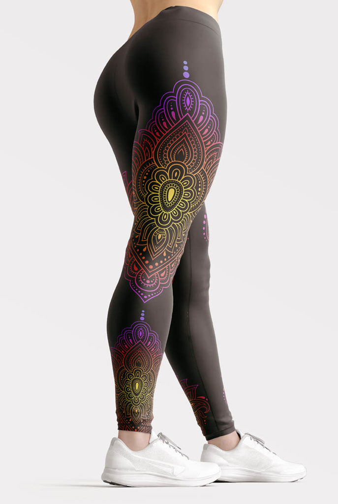 Sunset Mandala Leggings
