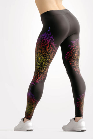 Image of Sunset Mandala Leggings