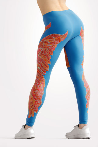 Butterfly Dreams Neon Leggings
