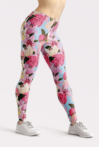 Image of Flowers of Paradise Leggings