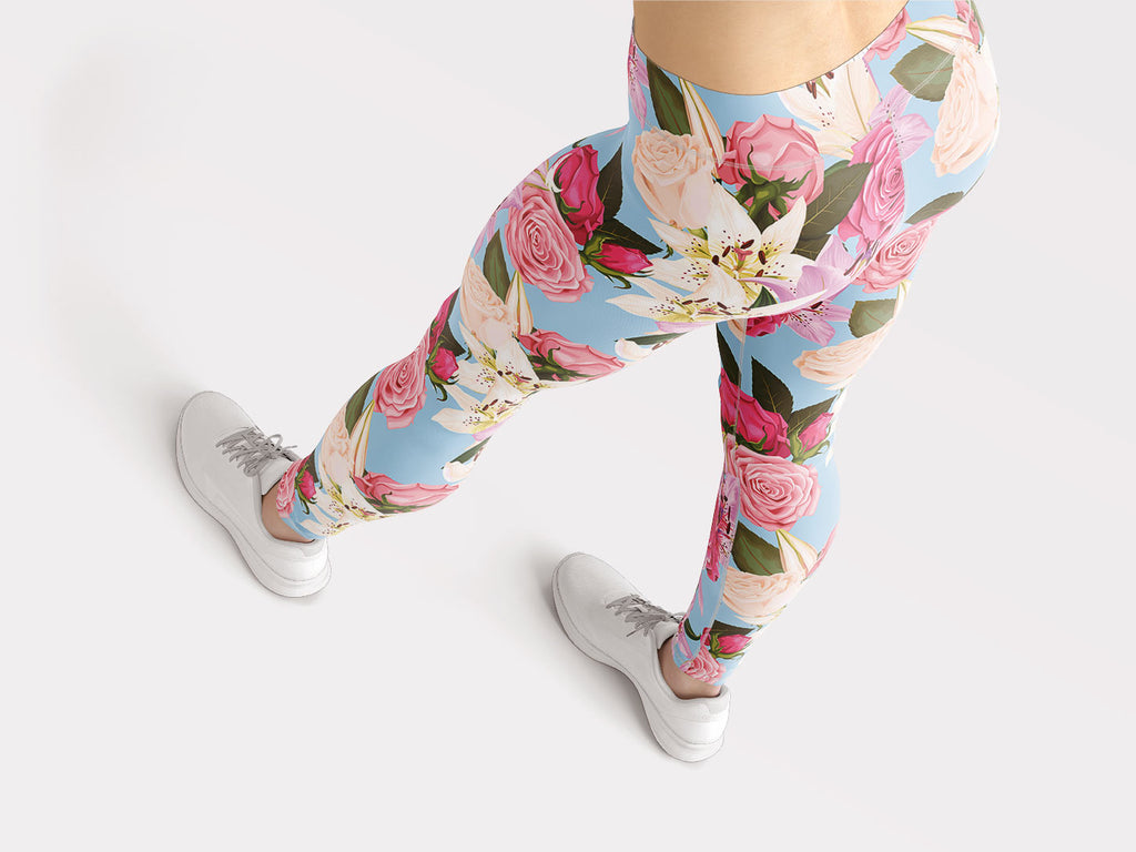 Flowers of Paradise Leggings