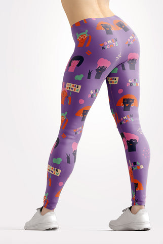 Image of Girl Power Leggings