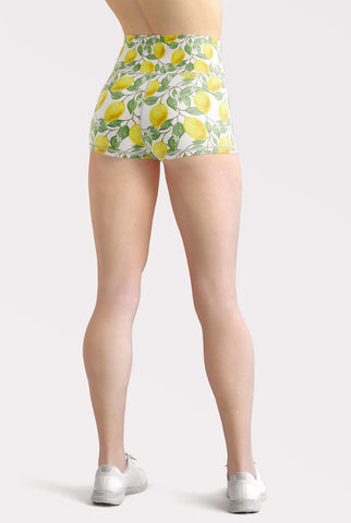 Lemonade High Waisted Shorts
