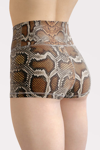Anaconda High Waisted Shorts