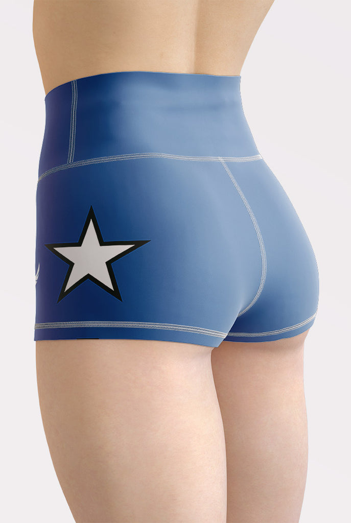 All Star High Waisted Shorts