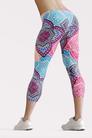 Image of Mandala Capri Leggings