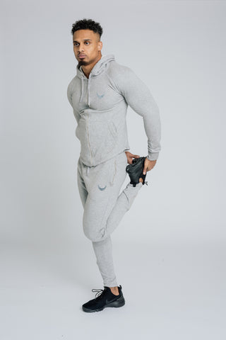Image of Alpha Zip Hoodie - Grey